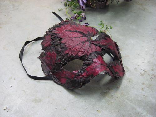 Begonia Mask