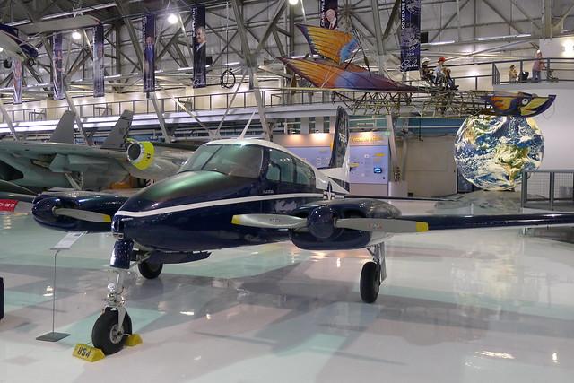 Cessna U-3A Blue Canoe