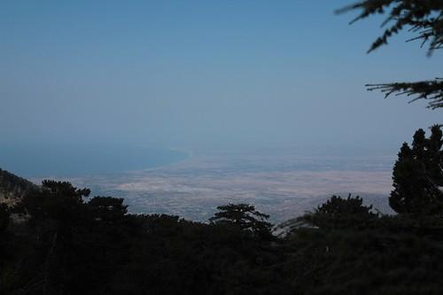 il più alto viewpoint del Monte Olimpo