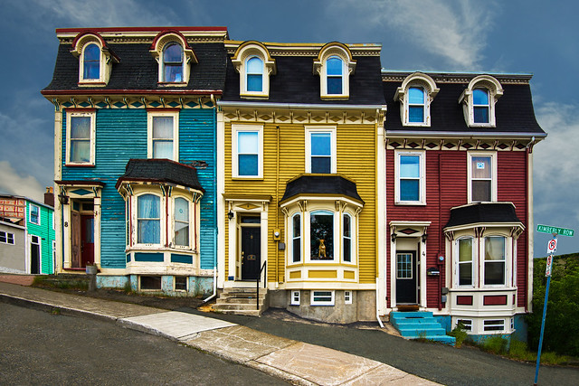 Kimberly Row Houses, St. John's Newfoundland