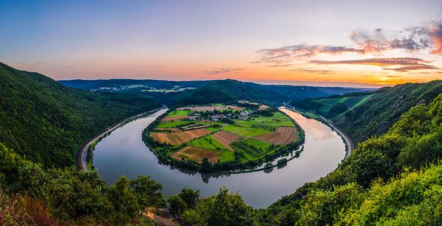 Saarschleife - Hamm/Serrig, Pfalz