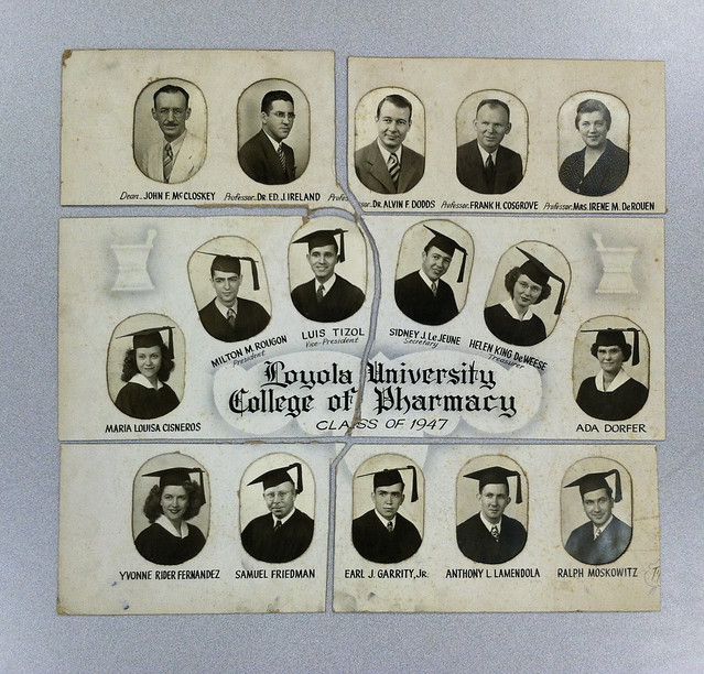 Pharmacy Graduate Composite Before Digital Reconstruction