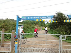 #PedalOnUK - into the Lee Valley2