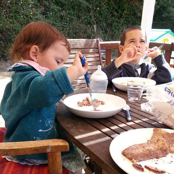 ★ bon appétit les enfants ★ #blog #blogueuse #ourlittlefamily #france #nofiltre #campingalaferme