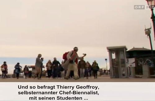 BIENNALIST at the Venice Biennale ( Biennale di Venezia ) @ Austrian TV
