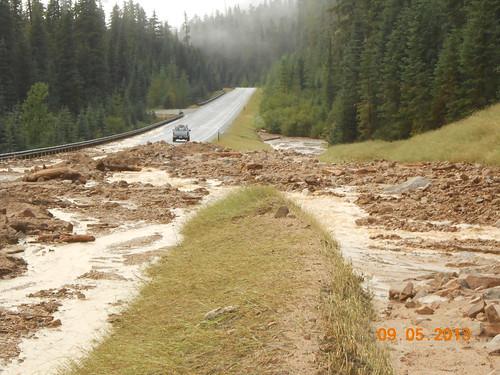 Mudslides on SR 20