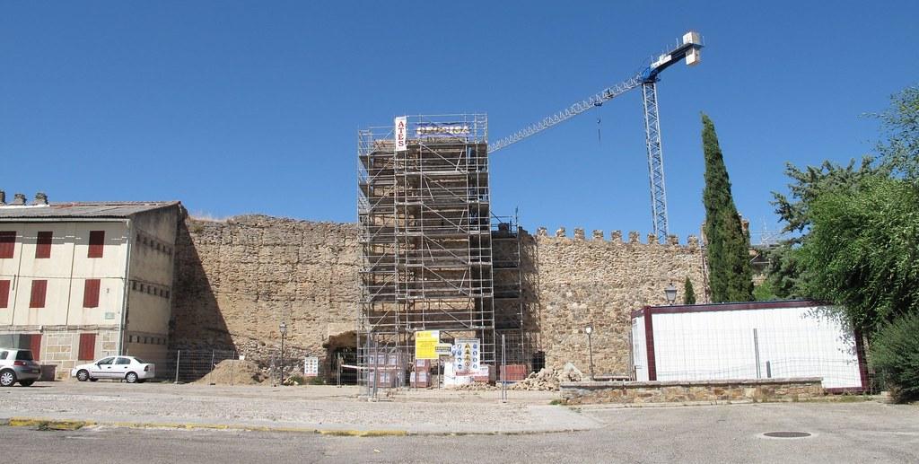 castillo buitrago de lozoya_madrid_tapial_restauración