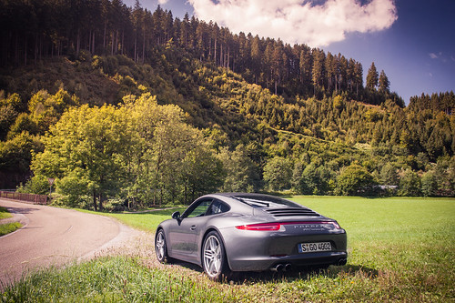 911  Carrera 4S ready for Schwarzwald mountains