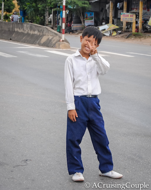 Visit Vietnam Smiling Boy
