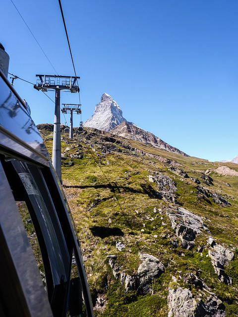 Cable-Car, Matterhorn, Switzerland