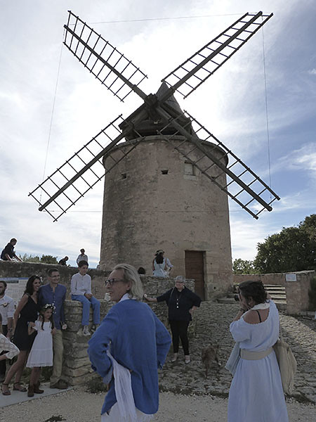 arrivée au moulin