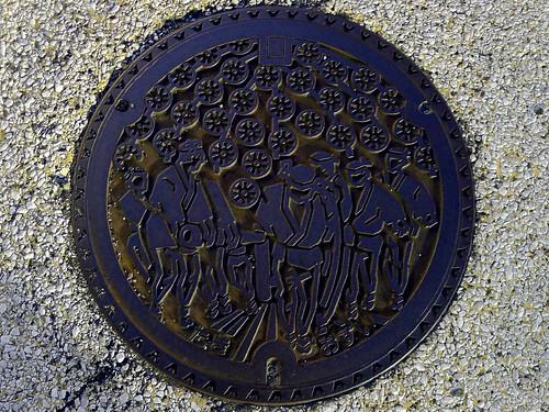 Taki Shimane , manhole cover (島根県多伎町のマンホール)