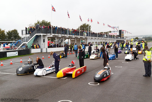 Greenpower National Finals 2013 at Goodwood