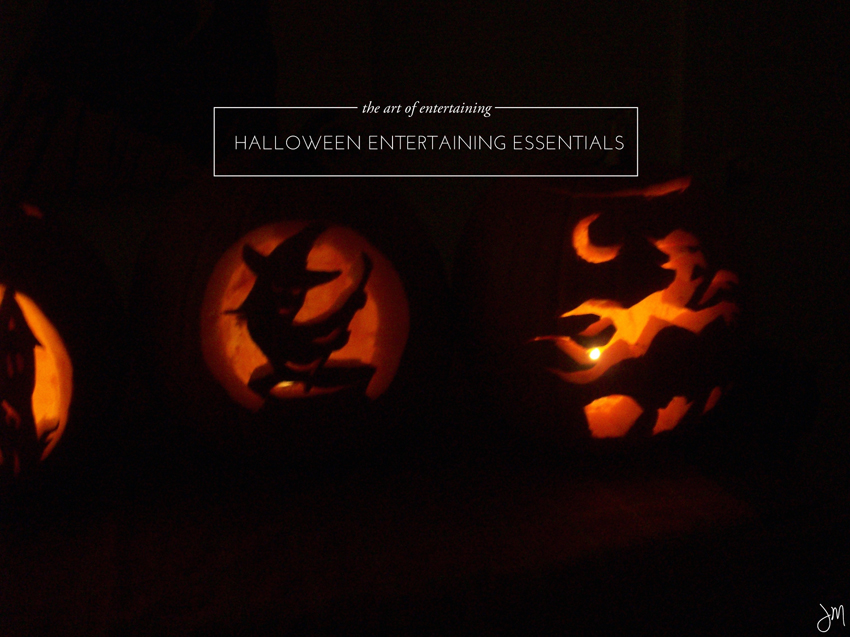 Julip Made halloween entertaining essentials