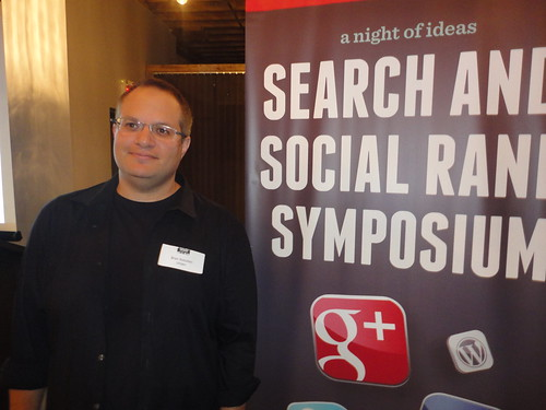 Brian Rotsztein, Search and Social Rank Symposium, SEO in Montreal