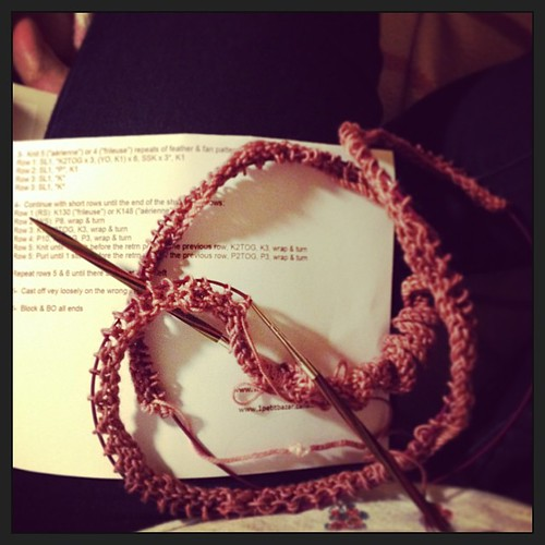 "Starting a new project...""cast on 254 stitches"". Oh my."