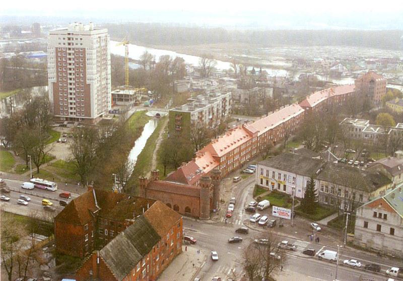 Литовский вал сверху