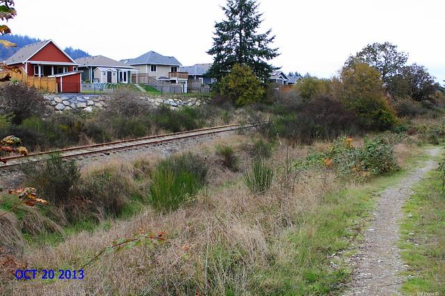 Equimalt & Nanaimo Railway E&N at Kettle Creek subdivision