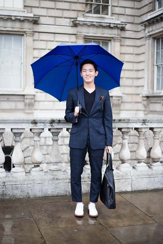 Street Style - Kwangbok Jack Lee, London Fashion Week
