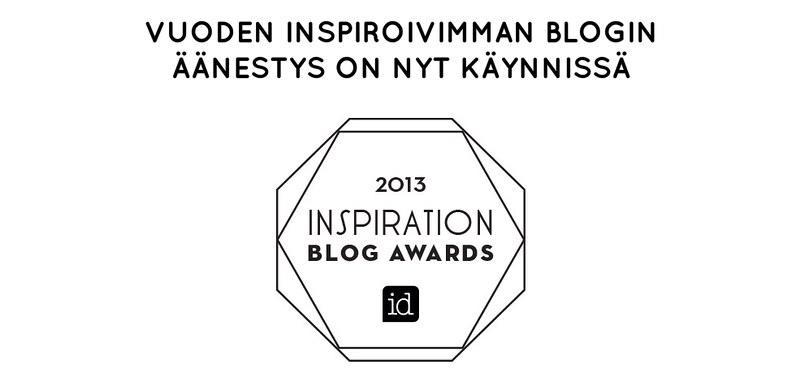 inspiration blog awards