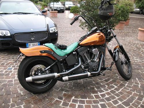 Harley-Davidson + Maserati