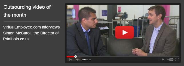 VirtualEmployee.com interviews Simon McCaroll, the Director of Printbots.co.uk