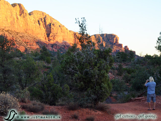 PIC: Bill of JustWander.com photographs Bell Rock Pathway, Sedona, Arizona