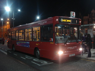 London United DPS659 on Route 533, Hammersmith Bus Station
