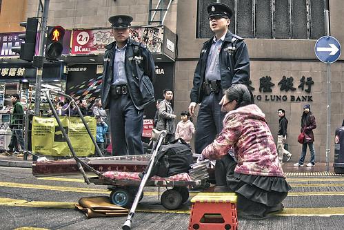 Lady on the Street, Mong Kok