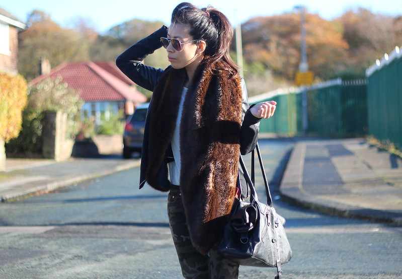 Article 21 Fashion & Style Blog, zara haul, zara faux fur collar, zara army pants, manchester fashion blogger, faux fur collars, uk blogger outfits