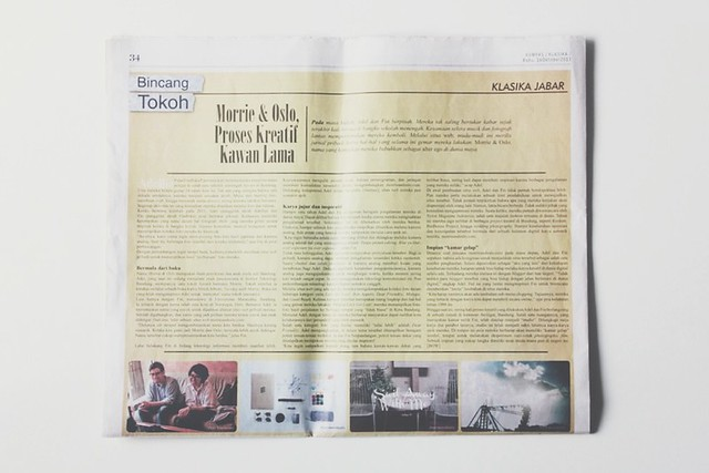 Morrie & Oslo Featured on Kompas (Klasika Jabar)