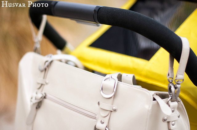 OiOi patent leather diaper bag review in_the_know_mom
