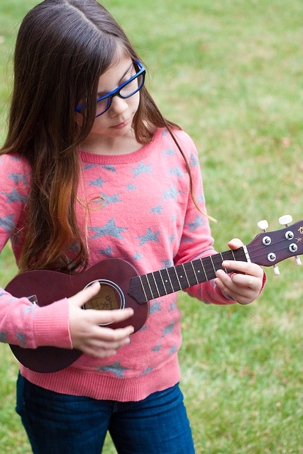 Elena's ukulele