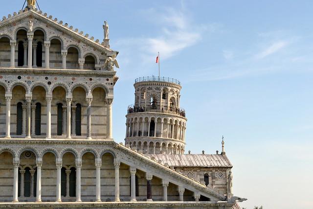 Duomo y Campanile. Pisa. Italia.