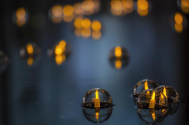 """Week 48 of 52 Theme: """"Bokeh"""" Floating Lanterns"""