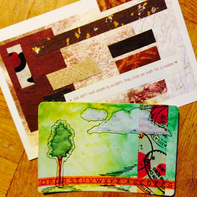 DIY Postcards by Sally-Ann & Kelly