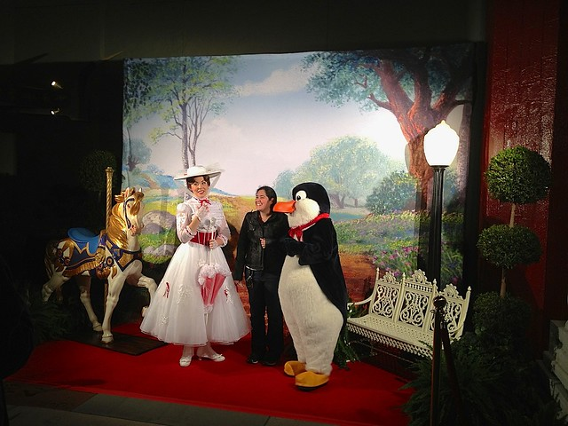 Saving Mr. Banks / Mary Poppins meet-up at Disney's Hollywood Studios