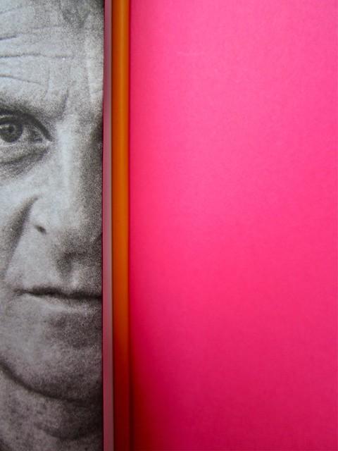 Michael Nedo (a cura di), Una biografia per immagini. Carocci 2013. Progetto grafico di Shoko Mugikura e Michael Nedo. Falcinelli & co. per l'ed. it. Prima di sovracoperta (part.) 3