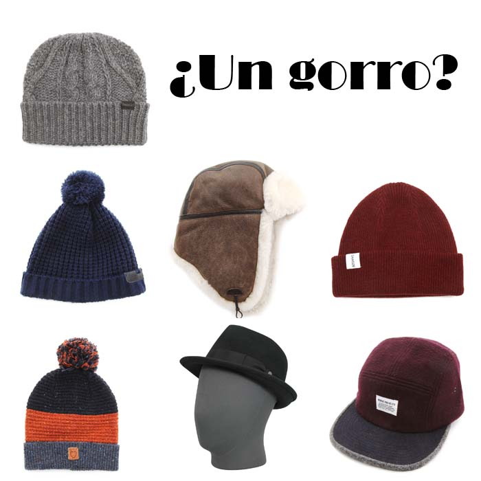 regalo chico gorro