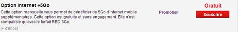 Choisir de nouvelles options   Mon Espace Client   SFR 2.fr