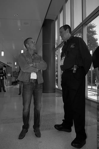 Executive Producer Mark Lovett with TEDx Advisor Kent McIntosh