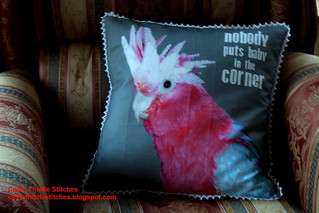 Baby in the Corner Cushion