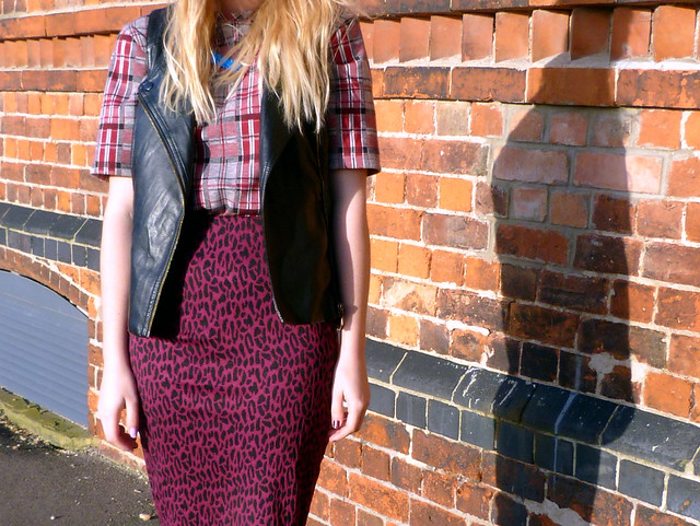 Close up print clash | Fashion blogger outfit post