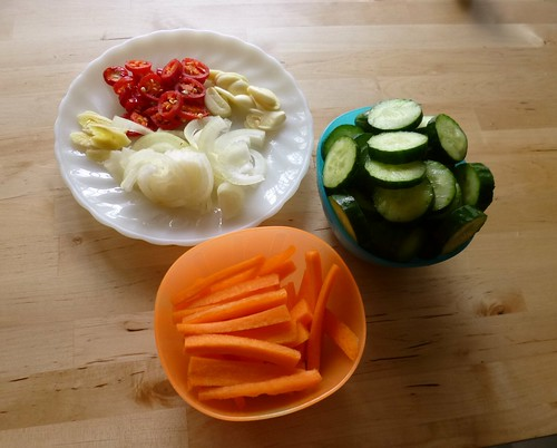 Pickled veges by adline✿makes