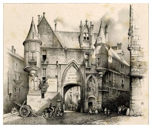 011-Souvenir du vieux Paris…1835- L.T. Turpin de Crissé- Institut National d'histoire de l'art- INHA