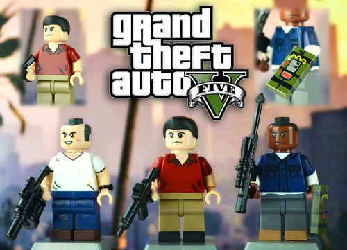 GTA V Lego Piece Official