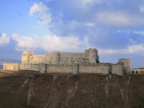 Castillo Crac de los Caballeros (Krak des Chevaliers, Siria)