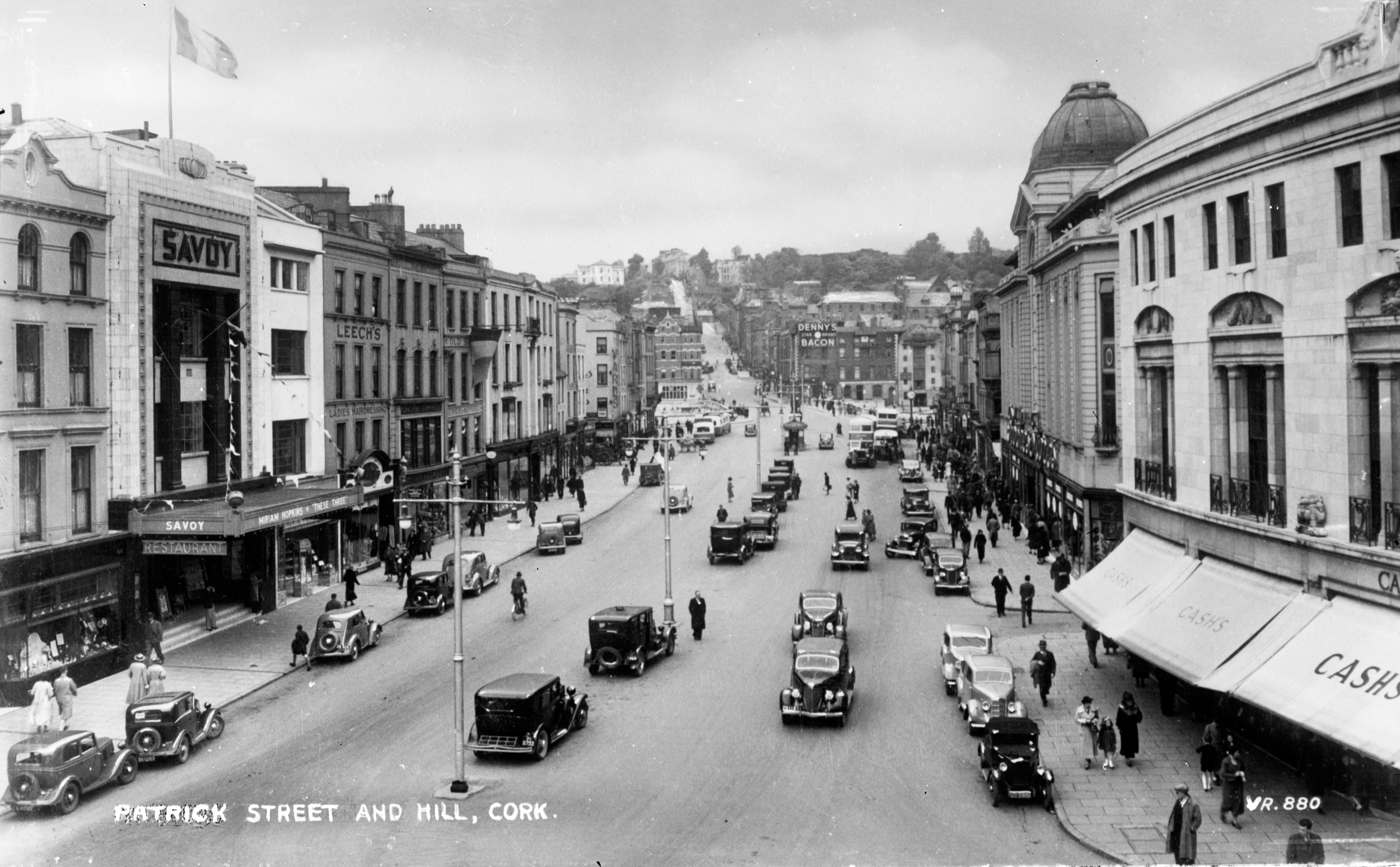 Old photo of Patrick Street, Co. Cork, Ireland