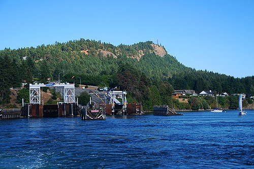 Village Bay Ferry Terminal, Mayne Island, Southern Gulf Islands, British Columbia
