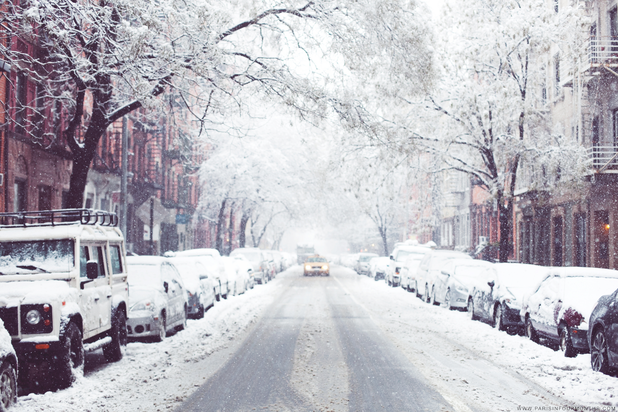 Winter Wonderland in New York City